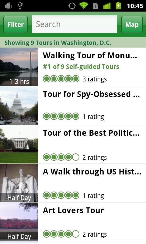 Washington DC City Guide - screenshot