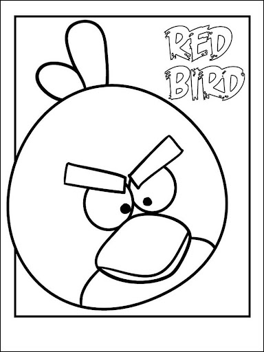 Coloring Book Angry Bird