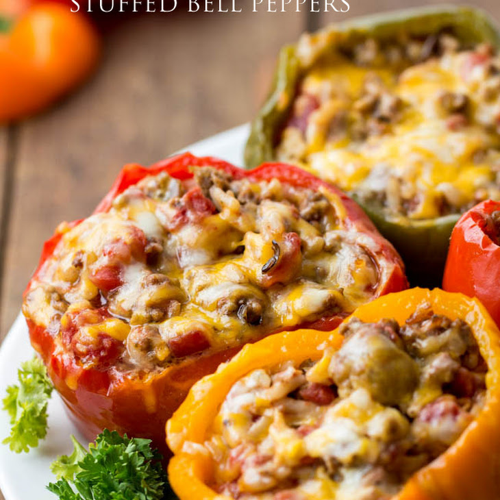 Slow Cooker Stuffed Bell Peppers Recipe