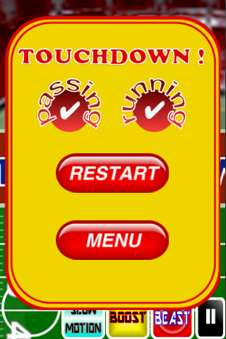 Touchdown ! - screenshot