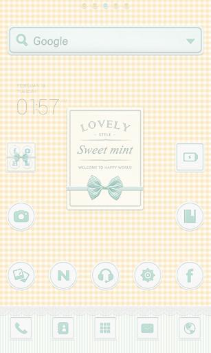 Sweetmint dodol launcher theme