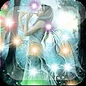 Blue Fairy Flute L Wallpaper logo