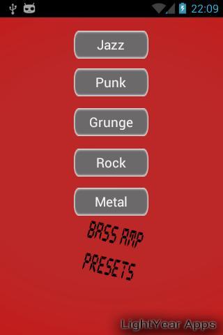Bass Amp Presets