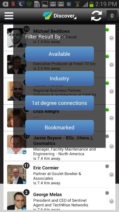 Trendr - screenshot