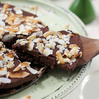 Chocolate Coconut Truffle Tart