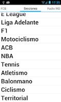 Screenshot of Mundo Deportivo Beta