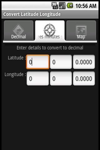 Latitude Longitude Convert- screenshot