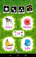 Screenshot of Kids English Flash Card