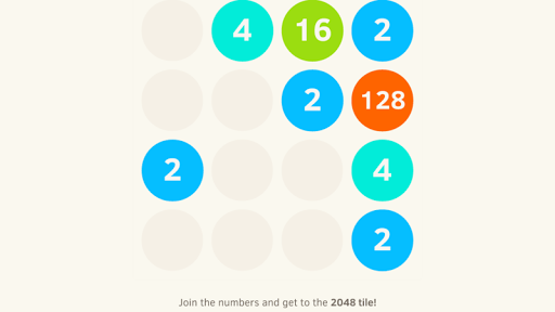 2048 Numbers - Game