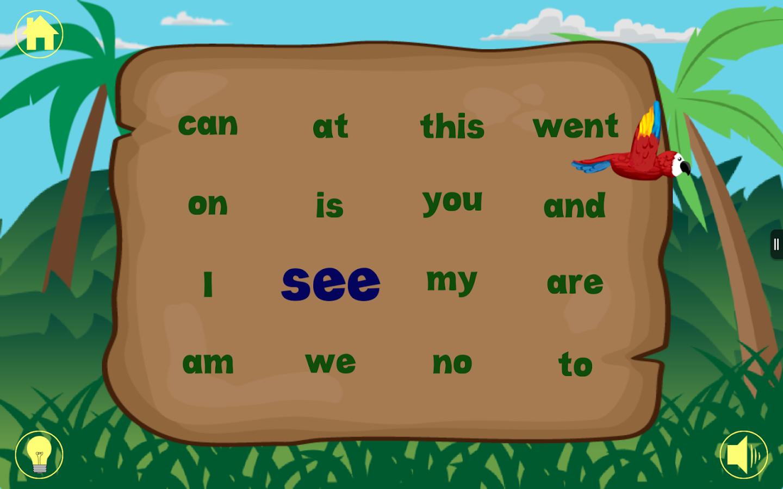 Worksheet Free Kindergarten Sight Words kindergarten sight words free android apps on google play screenshot