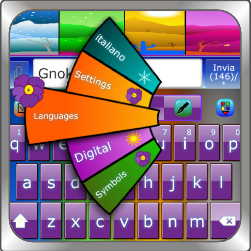 GO Keyboard SEASON  theme