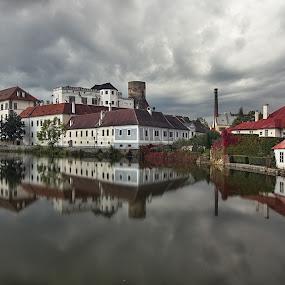Pohádka... by Miloš Stanko - Buildings & Architecture Public & Historical ( hrad, rybník )