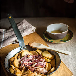 Duck Breast with Apples