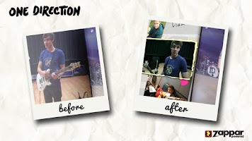 Screenshot of One Direction Picture Book