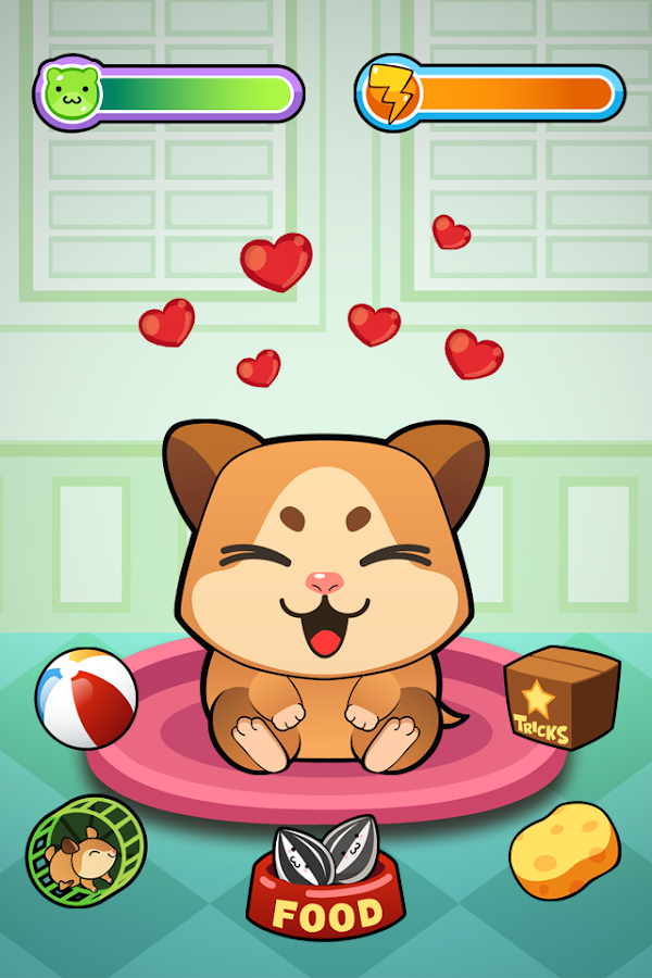 My Virtual Hamster - Cute Pet- screenshot