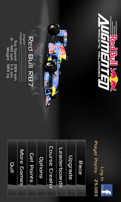Red Bull AR Reloaded - screenshot
