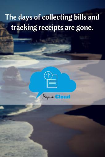PaperCloud Receipt Tracker