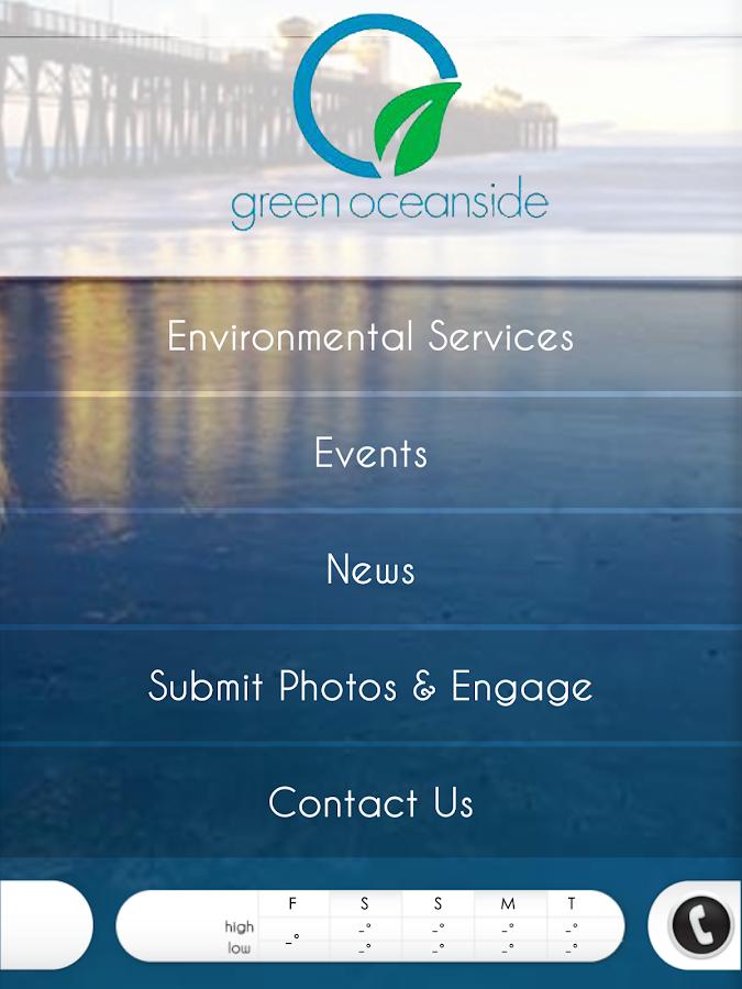 Green Oceanside - screenshot