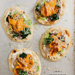 Mini Sweet Potato Pizzas