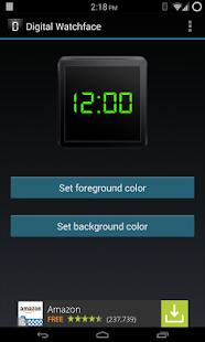 Digital Watchface - screenshot thumbnail