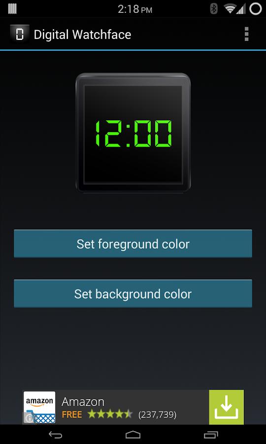 Digital Watchface - screenshot