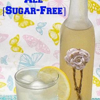 Ginger Ale {Sugar-Free}.