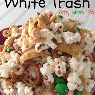 White Trash Holiday Snack Mix.