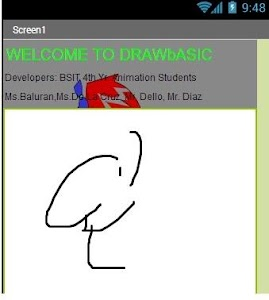 Basic Draw (Light Sketch Pad) screenshot 1