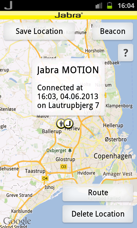 Jabra CONNECT- screenshot