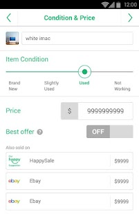 HappySale - Sell Everything - screenshot thumbnail