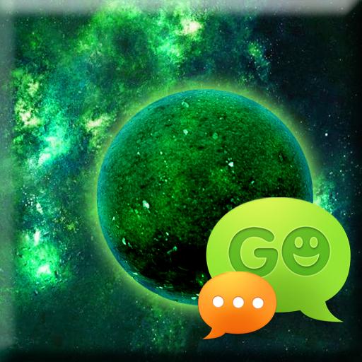 个人化のSMS PRO惑星のテーマをGO LOGO-記事Game