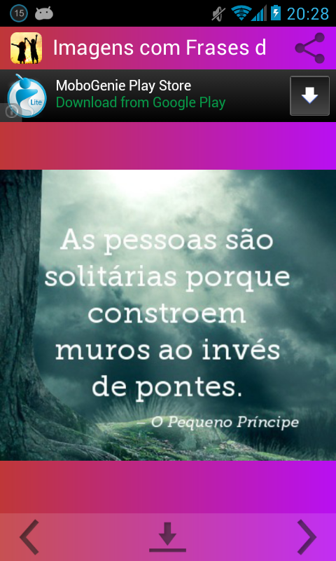Imagens com Frases de Amizade - screenshot