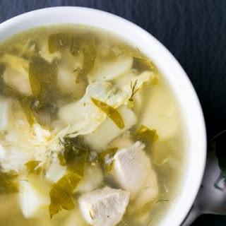 Shchavel Borscht (Sorrel Soup)