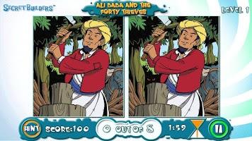 Screenshot of Spot Difference FREE: Ali Baba