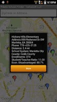 Screenshot of Public Schools Finder