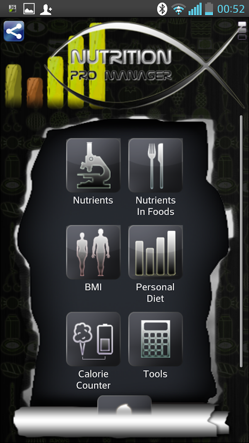 Nutrition Pro Manager - screenshot