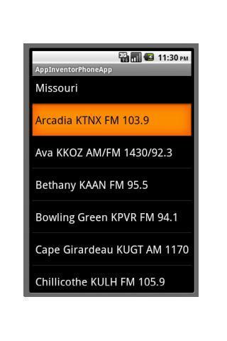 Missouri Football Radio