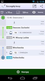 jakdojade.pl – miniaturka zrzutu ekranu