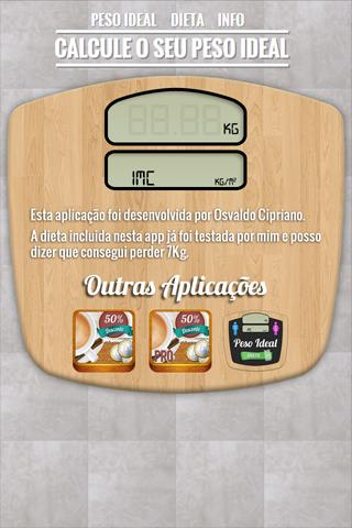 Peso Ideal + Dieta- screenshot