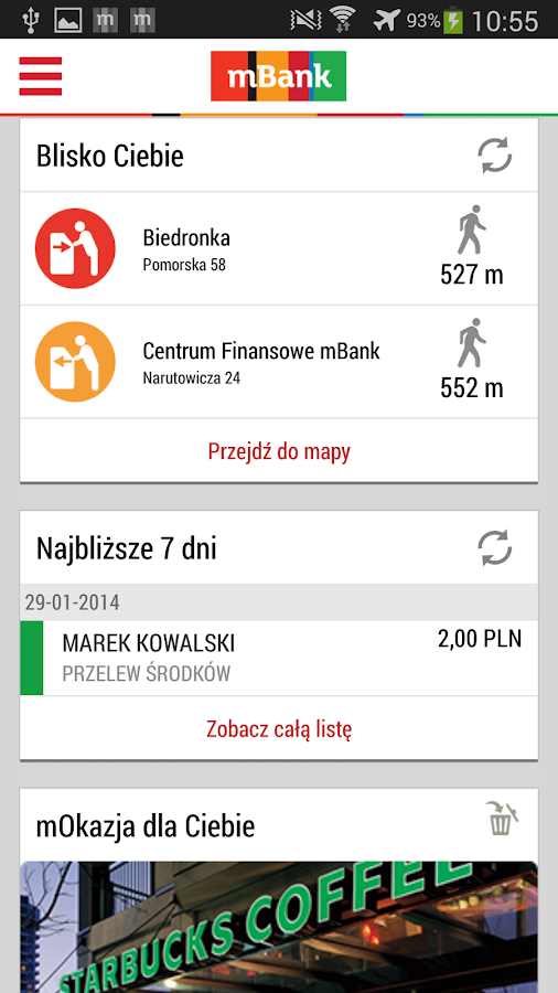 mBank PL - screenshot