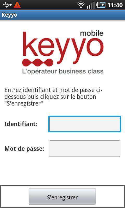 Keyyo Synchro- screenshot