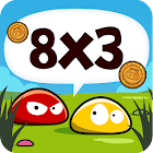 Math Blobs Times tables icon