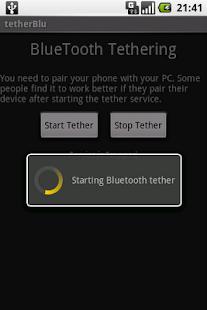 tether Blu - screenshot thumbnail