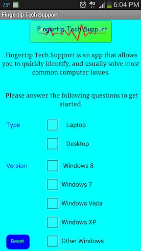 Fingertip Tech Support