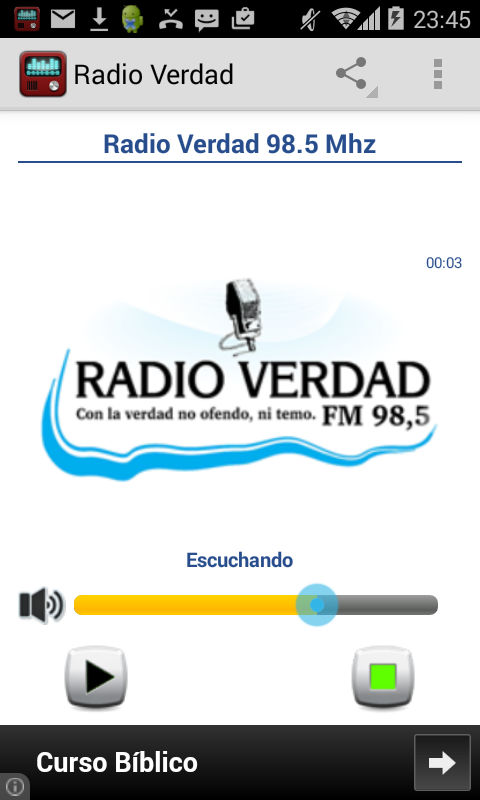 Radio verdad villa dolores android apps on google play for Radio boden 98 2 mhz