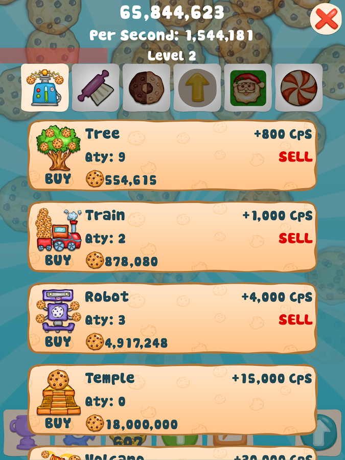 Cookie Clicker Collector - screenshot