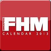 Singapore FHM 2013 Calendar