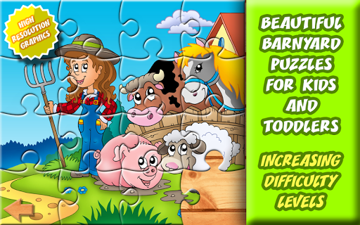 20 Barnyard Puzzles for Kids