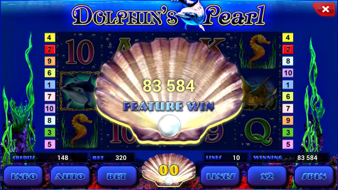 online slot machines for fun dolphin pearl