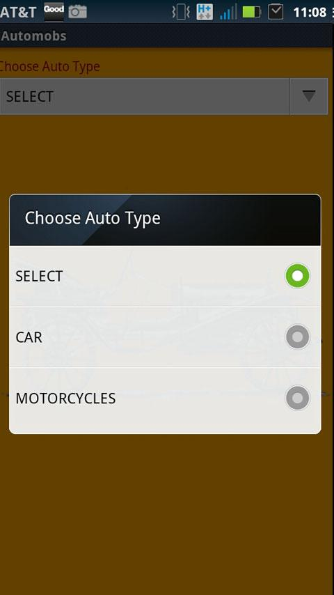 Automobiles- screenshot